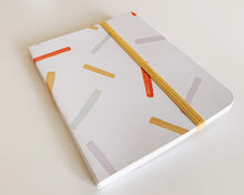 Load image into Gallery viewer, Big Confetti Pocket Sized Hand Bound Journal