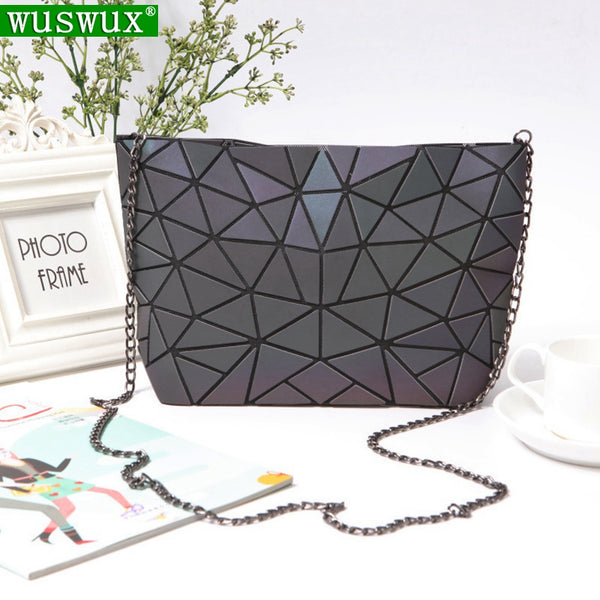 Geometric casual women messenger bags