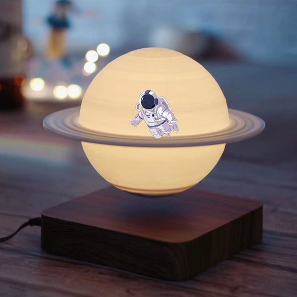 Creative 3D Magnetic Levitation Moon Lamp