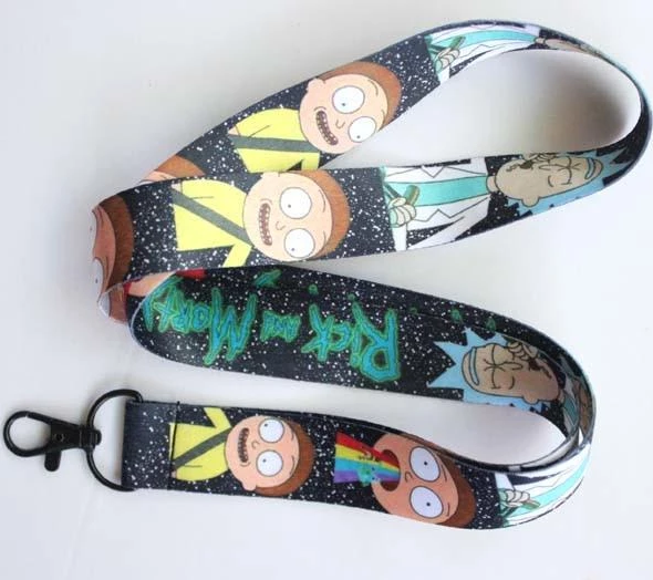 Rick and Morty Strap Clip Lanyard