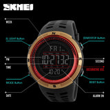 SKMEI Brand Mens Sports Watches Luxury Military Watches For Men