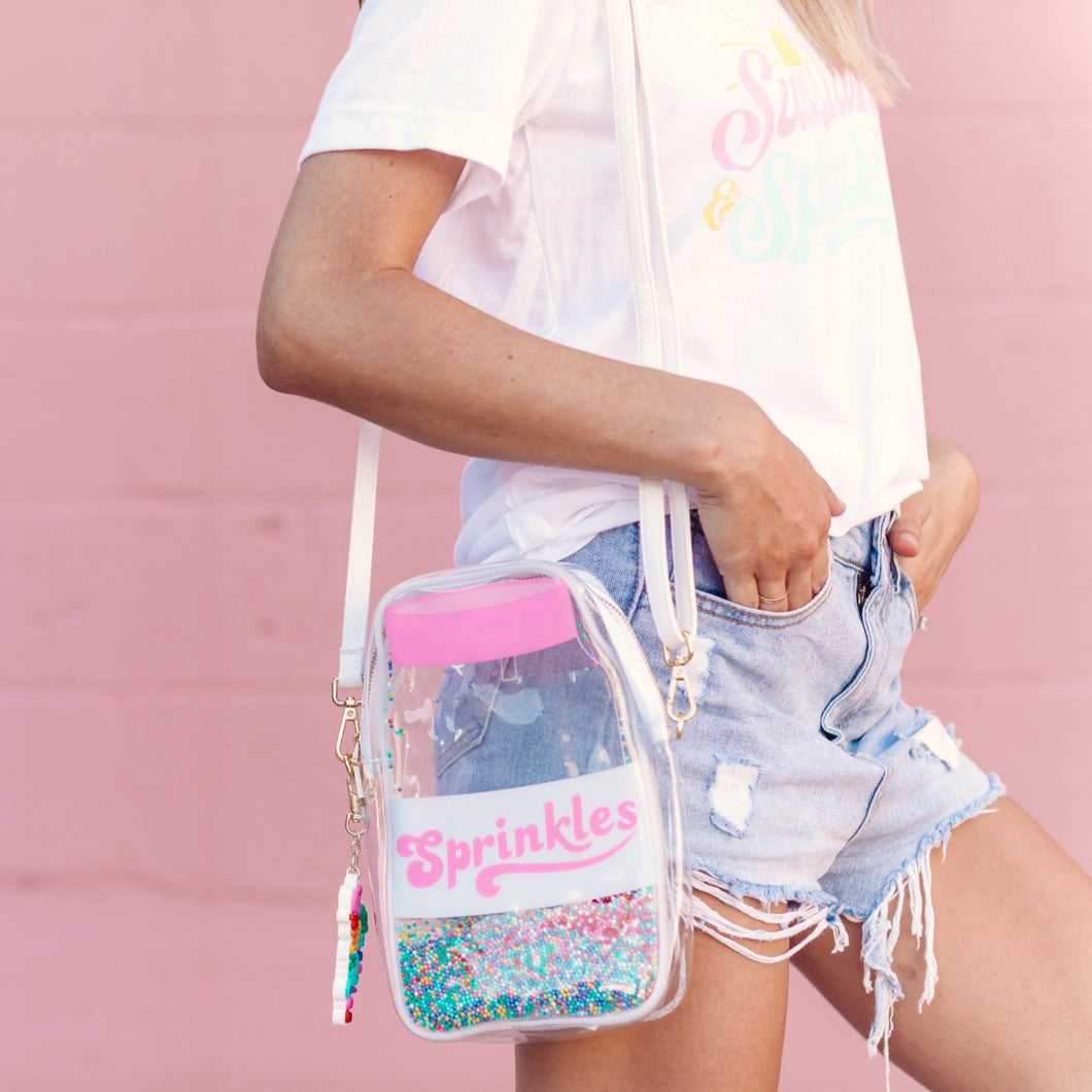 Sprinkle Jar Clutch/Backpack