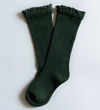 Forest Green Lace Top Knee Highs - Elo+Mena