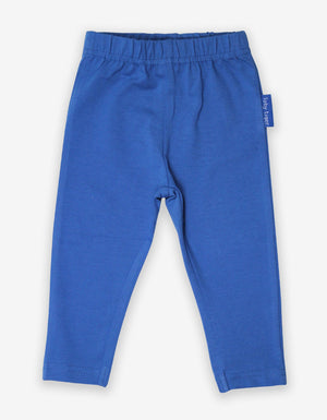 Organic Blue Basic Leggings - Elo+Mena