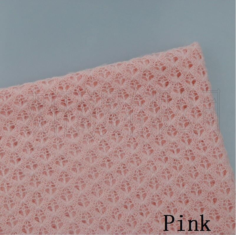 150*50cm Newborn  Knitted Acrylic thin Fabric Baby Photography Photo Props Backdrop Blanket