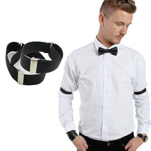 Load image into Gallery viewer, 1 Pair New Shirt Sleeve Holder Cloth Arm Bands Garter Elastic Men Shirt Sleeve