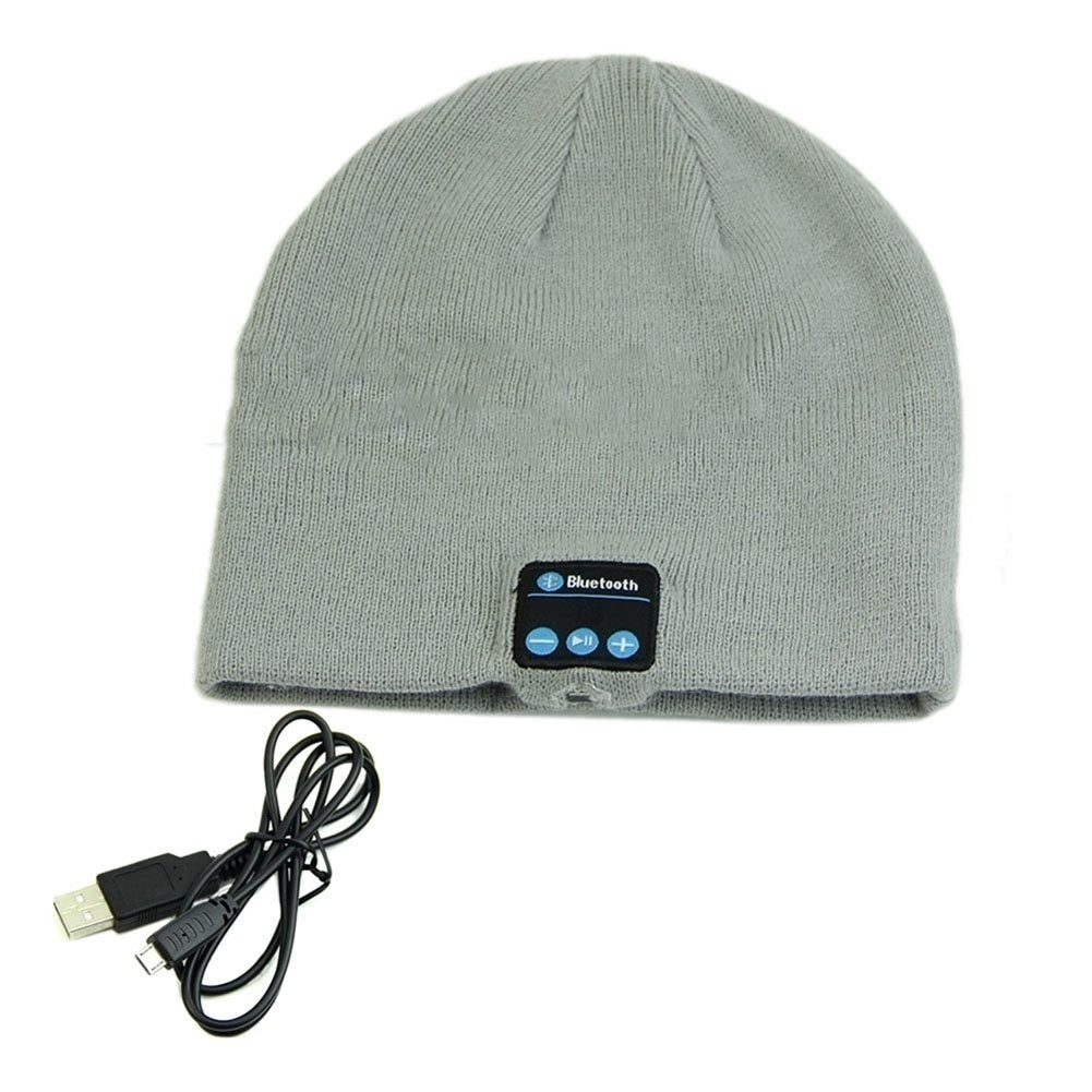 Special Beanie Hat Wireless Bluetooth Smart Headphone Headset Fashion Wireless Bluetooth Beanie