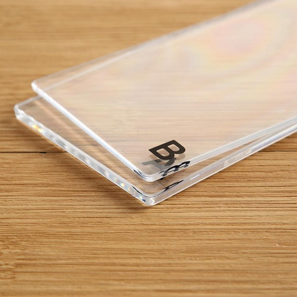 Replaceable Transparent Acrylic Cutting Mat Plate for DIY Embossing Cutting Die Machine