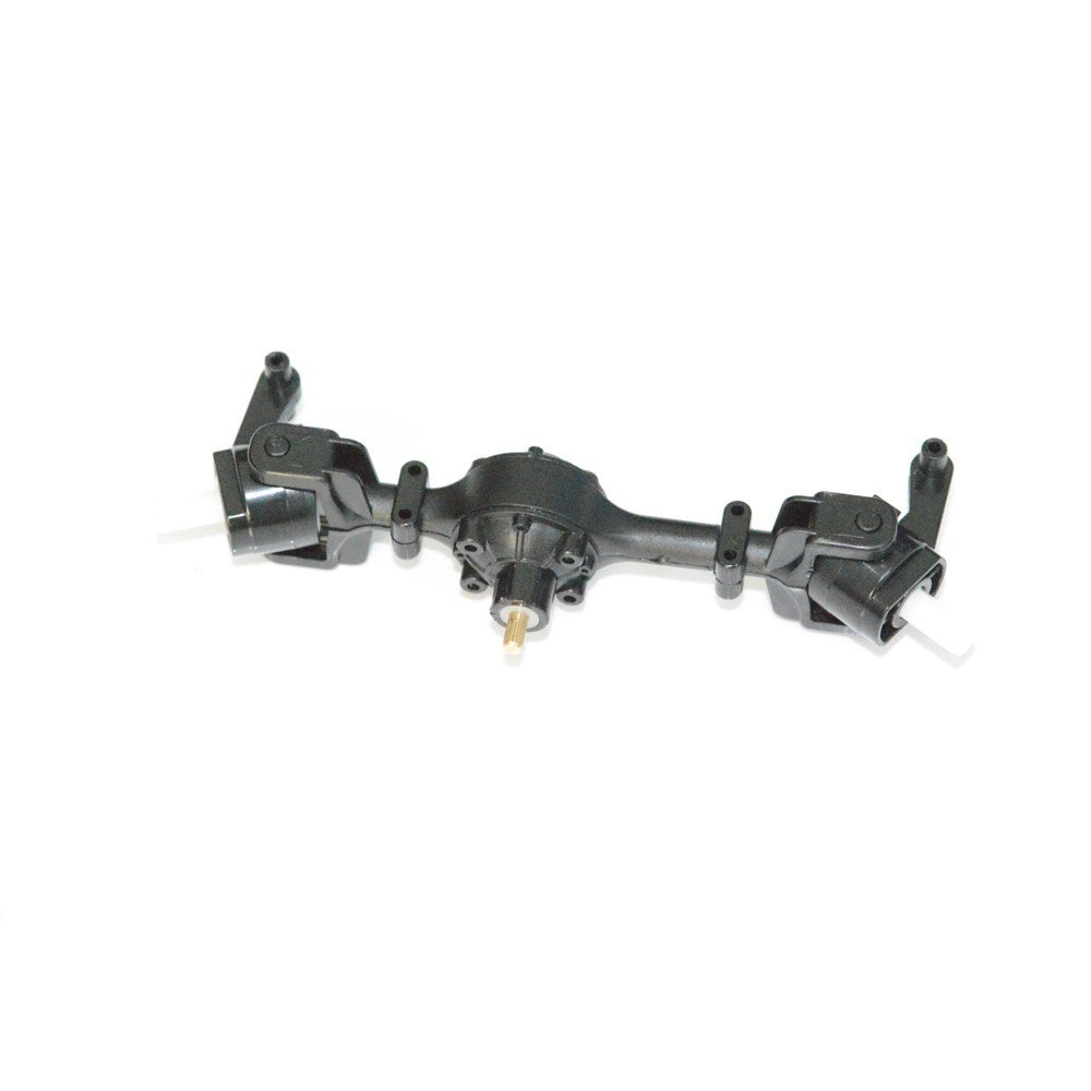 Metal Gear Sturdy Front Axle Assembly Spare Part For WPL FY001 1:16 RC Military