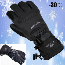 Load image into Gallery viewer, Waterproof Winterwarm Snowmobile Riding Gloves -30 Snow Motorcycle Ski Mens Glove