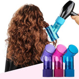 nicor? Cute curly hair Salon Plastic Wind Spin Magic Roller Hairdryer Diffuser Hair Curler By Hair Dryer Attractive Curl