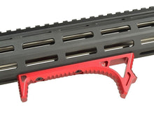 Load image into Gallery viewer, Curved Angled Foregrip Fit KeyMod/M-lok Handguard Handstop for Riflerail Handguard Mount