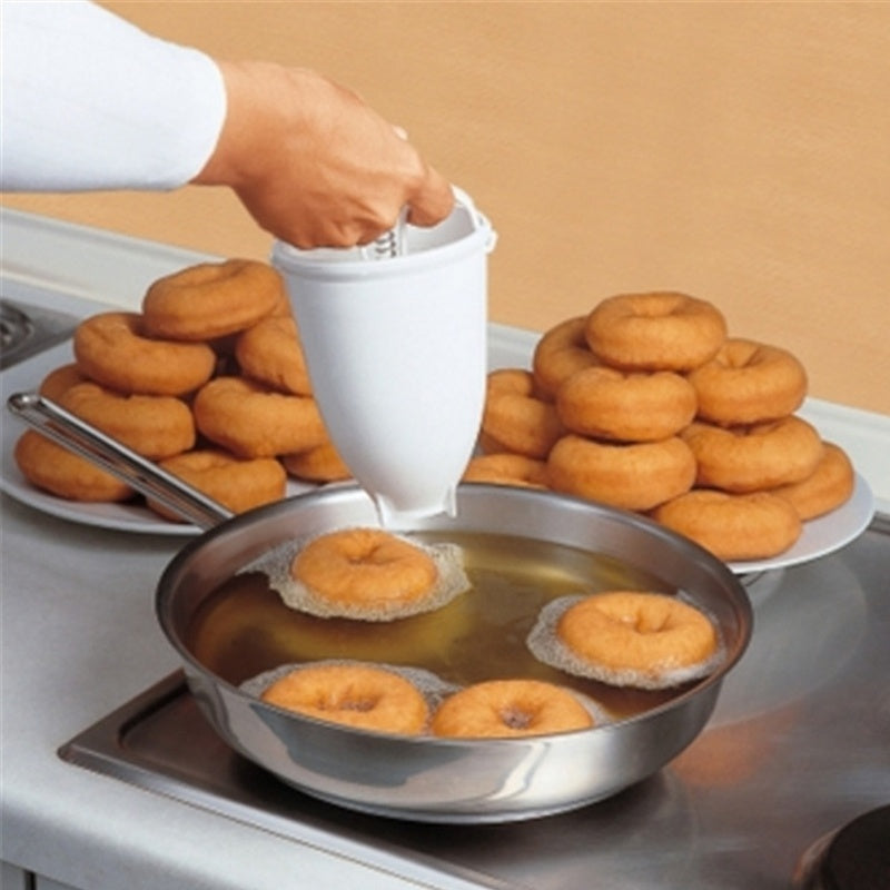 Plastic Doughnut Maker Machine Mold DIY Tool Kitchen Pastry Kitchen Accessories