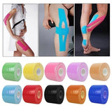 5M Long Kinesio Taping Bandage Roll Athletic Kinesiology Sport Elastic Adhesive Knee Muscle Tape Strapping Strain Injury Support