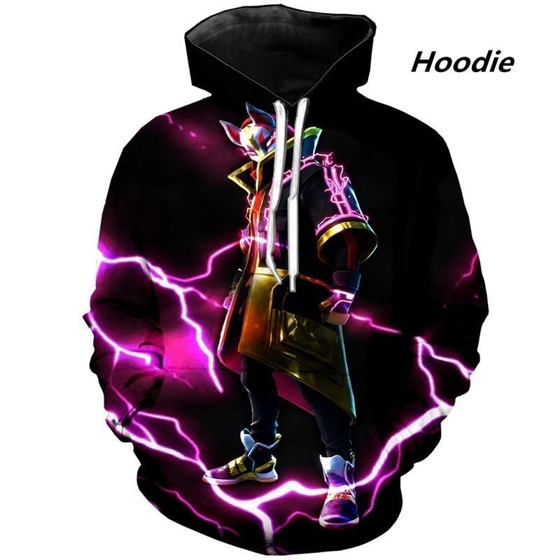 Newest Game Season 5 Skins Drift 3D Print Hipster Hoodie/Sweatshirt/T Shirt Unisex Tops