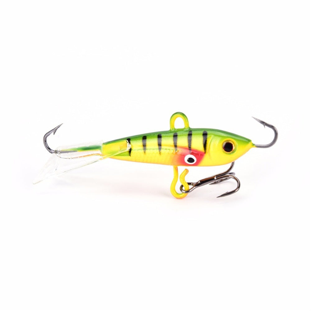High Quality Walleye Jigging Balancer Winter Bait Lead Hard Hook Ice Fishing Lure AD-Sharp