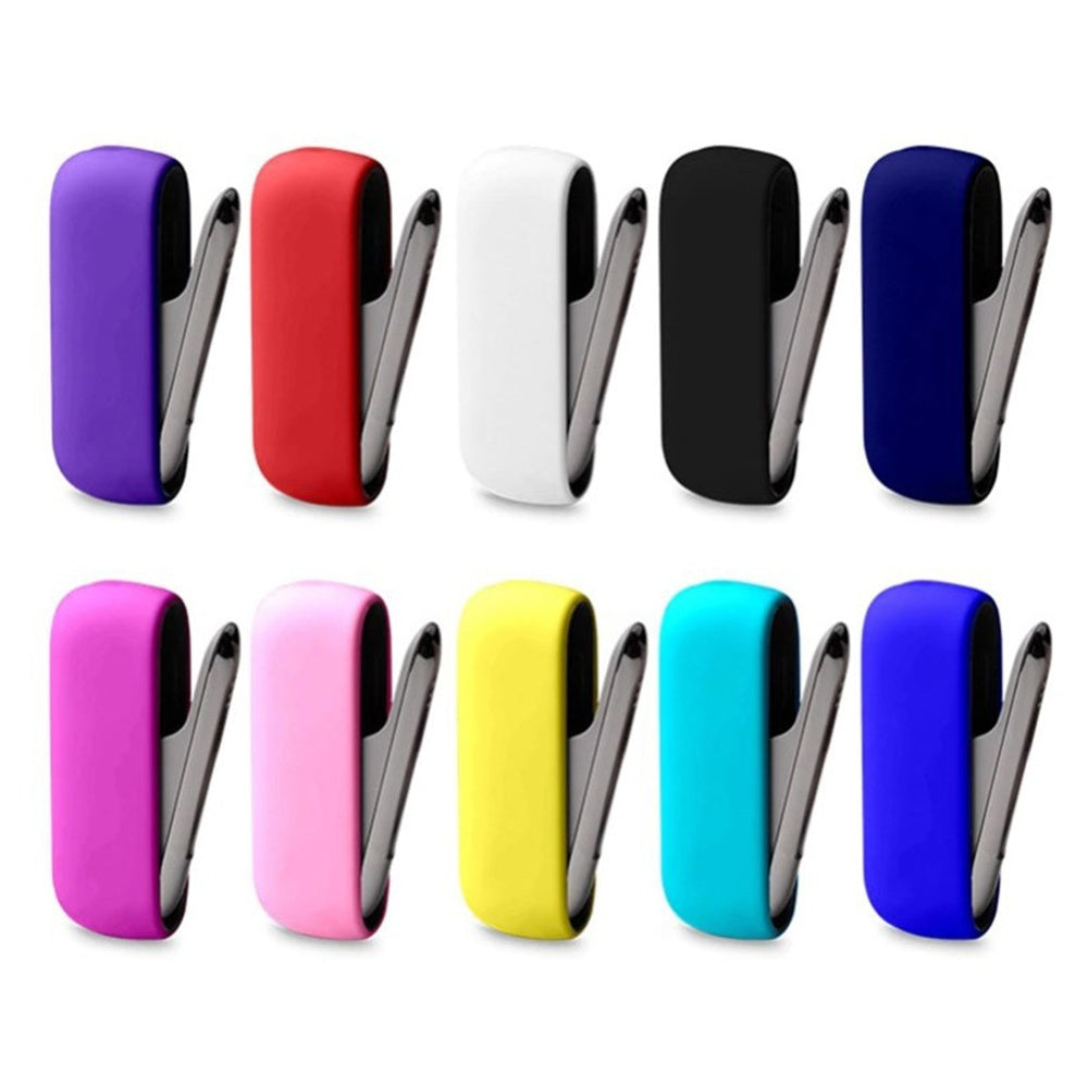 Shockproof Slim Dust Proof Sleeve Wrap Protective Skin Back IQOS 3.0 Cover Silicone Case