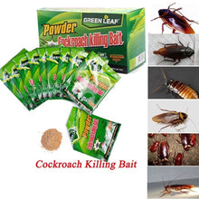 Load image into Gallery viewer, 50PCS Effective Powder Cockroach Killing Bait Roach Killer Pesticide Insecticide Cockroach Killing Bait Roach Bug Killer