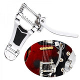 New Chrome Tremolo Vibrato Tailpiece Bridge Hollow Body For Les Paul Guitar
