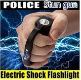 2019 New Taser's Electric Torch.Self-defense Electric Shock Flashlight  Dizzy Electric Shock Flashlight  LED Tactical Flashlight