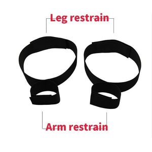 1 Pc  Fantasy Fetish Wrist Thigh Bondage Cuffs Strap Set Rope Restraints Toy cfcf