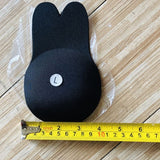 2 Pair Women Cute Rabbit Ear Invisible Bra Lifting Chest Stickers Breathable Bio-Silicone Nipple Cover Anti-Sagging Chest Pad ZIN