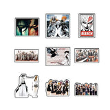 30/50PCS Grim Reaper Classic Graffiti Stickers for Moto Car Suitcase Cool Laptop Stickers Luggage Skateboard Sticker