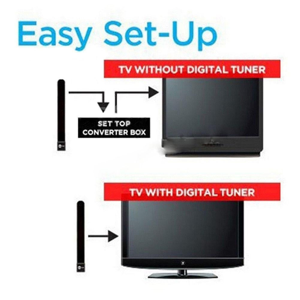 Clear TV Key TV Signal Enhancer HD Digital Indoor Antenna TV Day