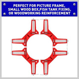 1/2/4pcs SF 90 Degree Right Angle Corner Clamp Fixture Picture Frame Holder WoodworkingTool