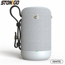 Load image into Gallery viewer, 10W Bluetooth Speakers, Portable Wireless Speaker Support True Wireless Stereo (TWS) IPX56 Waterproof Speaker with Dual Drivers Bass Passive Diaphragm Stereo Loud Sound Box Built-in Mic/TF Card/USB/AUX Audio Input STONEGO Audio Accessories for Home Bedroo