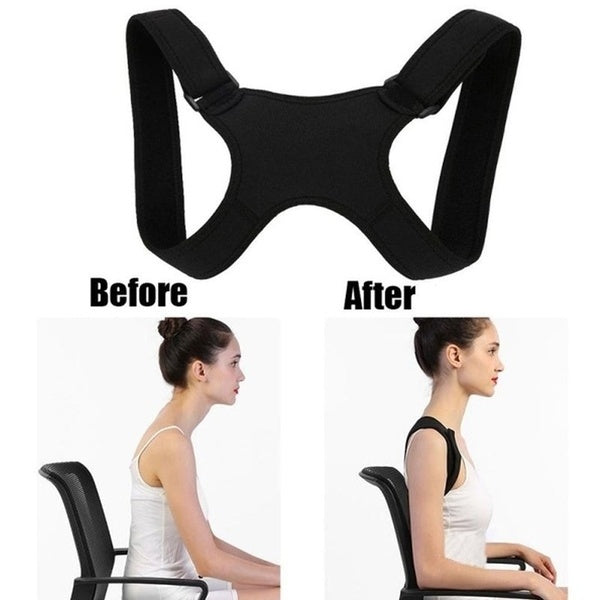 New back braces, kyphosis correction, breathable clavicle, adjustable posture