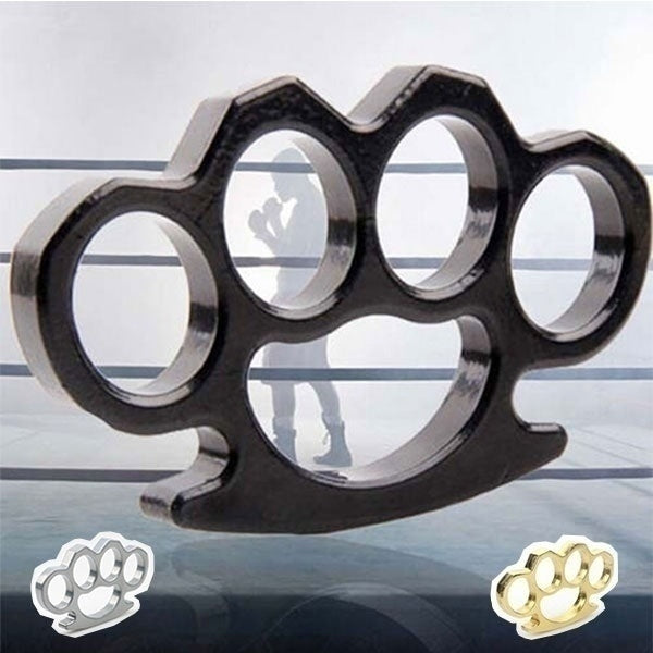 Brass Knuckles Tactical Survival Multi-Functional Self Defense EDC Duster tool