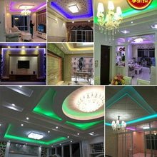 Load image into Gallery viewer, SMD 5050 AC 220V Led Strip Flexible Light 1m/2m/3m/4m/5m +US/EU Power Plug,60leds/m Waterproof Led Light