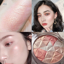 Load image into Gallery viewer, 1PC Highlighter Facial Bronzers Palette Makeup Face Contour Shimmer Powder Body Base Illuminator Highlight Cosmetics