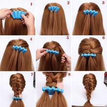 Load image into Gallery viewer, 1pcs Fashion Women DIY Sponge Hair Braider Plait Twist Clip Hair Styling Tools Hair Accessories (Color: Randomly Send)