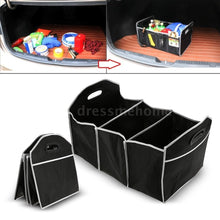 Load image into Gallery viewer, Car Collapsible Trunk Cargo Toys Food Container Organizer Box
