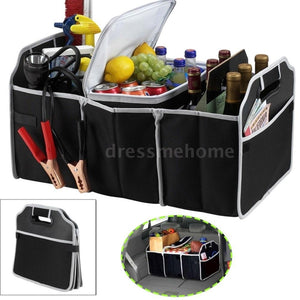 Car Collapsible Trunk Cargo Toys Food Container Organizer Box
