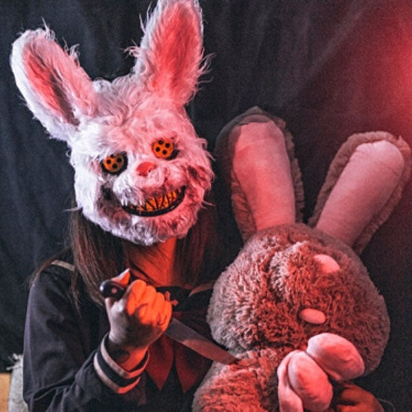Bloody Rabbit Mask Halloween Horror Masks Masquerade Party Cosplay Scary Mask