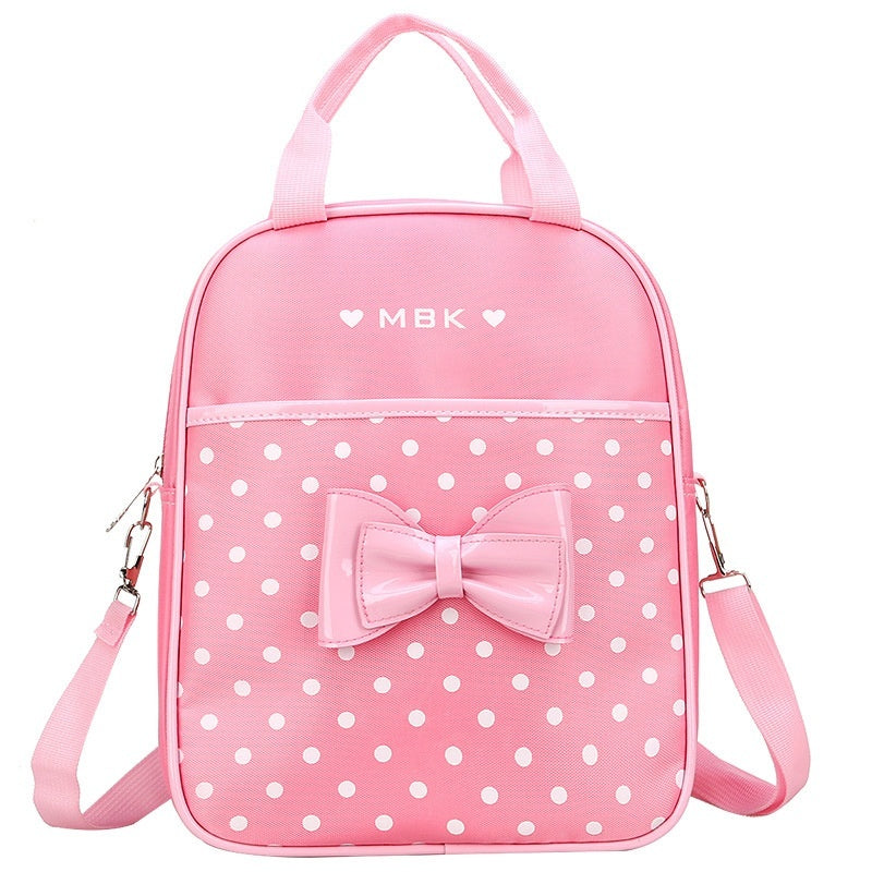 2019 School Bags for Girls Sweet Cute Princess Children Backpack or Handbag Kids Bookbag Primary School Backpack