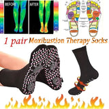 2019 Magnetic Therapy Weight Loss Foot Care Feet Massage Self Heating cotton Socks Relief Pain Socks
