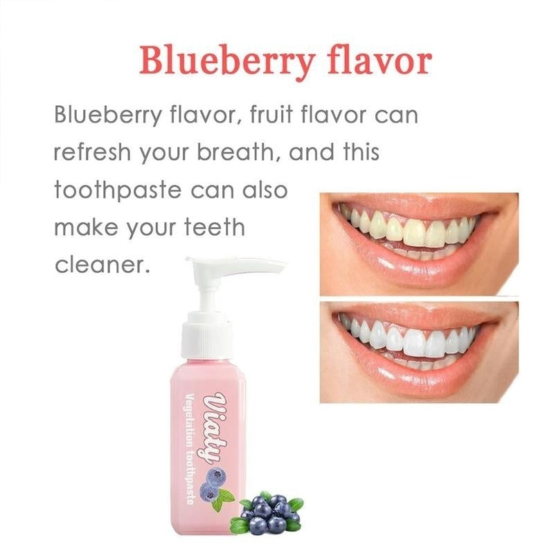 Viaty Toothpaste Stain Removal Whitening Toothpaste Fight Bleeding Gums Fresh 30ML