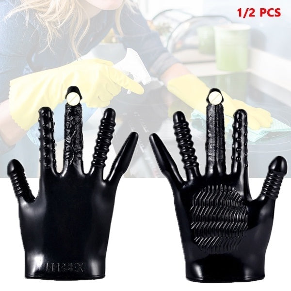 High Quality Silicone Finger Gloves Sleeve Home Kitchen Life Supplies