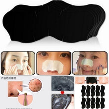 Load image into Gallery viewer, 15Pcs New Blackhead Acne Deep Clean Bamboo Charcoal Mineral Nose Mask Peelable Pores Beauty Cleaning