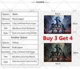 1 HD 36 Kind Popular ARPG Collection Video Game Poster Kraft/Photo Paper Wallpaper Decoration  42 X 29.7cm(11.6*16.5 Inch)