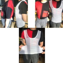 Load image into Gallery viewer, Mens Slimming Body Shaper Vest Belly Compression Shirt Abs Slim Tank Top Undershirt