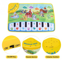 Load image into Gallery viewer, Baby Music Mat Children Crawling Piano Carpet Educational Musical Toy Kids Gift