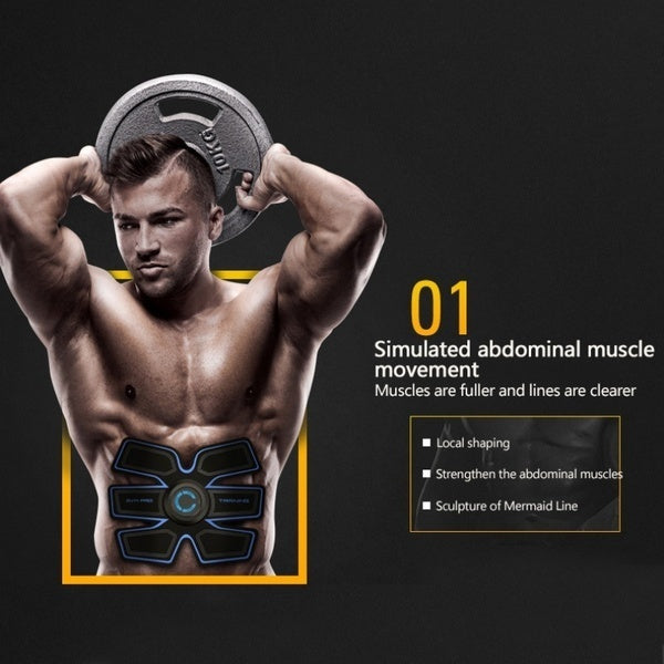 Professional EMS Muscle Training ABS Fitness Muscle Fat Burning Smart Abdominal Trainer Device