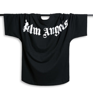 2019 Newest Men Women T Shirts Best Quality Summer Style Bat Shirt Letter Printed Palm Angels T-shirts Mens Top Tees Fashion Casual Loose Sport White Tee