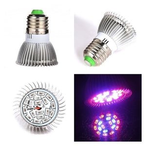 E27 Full Spectrum LED Plant Grow Lights 18W/28W LED Lights 120 Wide Angle Lighting Plants Growing Lamp