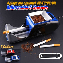 Load image into Gallery viewer, cigarette rolling machine 1pcs Electric Easy Automatic Cigarette Rolling Machine Tobacco Injector Maker Roller
